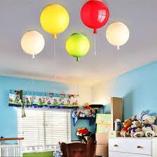 Dikale Kreative Decke Lichter Luftballons Form Kinder Schlafzimmer