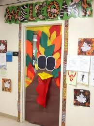 classroom door decorations for fall. Contemporary For Thanksgiving Classroom Door Decorations For Fall  Decorating Ideas Turkey  To Classroom Door Decorations For Fall L