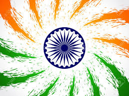 Beautiful Indian Flag Design Royalty Free Cliparts Vectors And