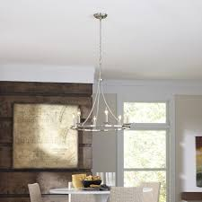 hanging crystal chandelier in classic style for a dining room white dining furniture set with white lighting fixture