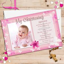 baptism card template personalised christening invitations baptism cards on baptism