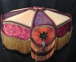 hand made victorian lampshades can be the focal point of any victorian room custom made shades with the finest trims and fabrics make all the difference