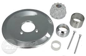 photo of the chrome tub shower trim kit for valley