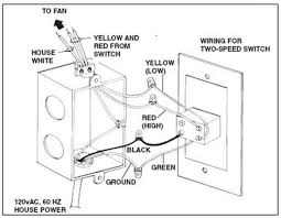 2 speed fan wiring diagram how to wire switches two speed fan wiring