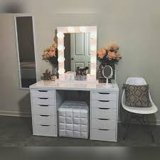 vanity table. Architecture White Vanity Table Set Jewelry Armoire Makeup Desk Bench Drawer Regarding Design 1 Small Childrens