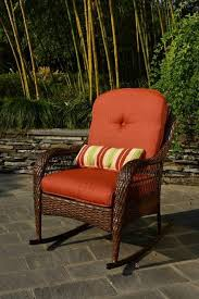 better homes and gardens azalea ridge replacement cushions. Amazon.com : Better Homes And Gardens Azalea Ridge Porch Deck Patio Rocking Chair All Weather Outdoor Wicker Rocker Furniture, 37\ Replacement Cushions 3