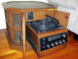 History's Dumpster: 1970s Magnavox Drum Console Stereo