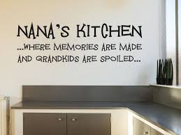 nana s kitchen wall art sticker vinyl transfer modern wall decal