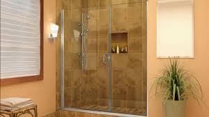 glass shower enclosures frameless sliding tub doors neo angle shower doors