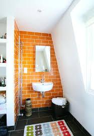 Orange Bathroom Ideas Orange Bathroom Decorating Ideas Orange Magnificent Orange Bathroom Decorating Ideas