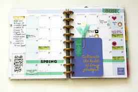Create 365 The Happy Planner March monthly & weekly spread by mambi Design  Team