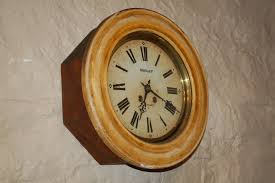 antique french wall clock school clock