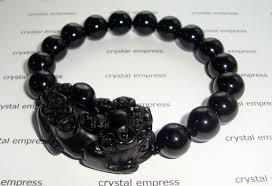 black onyx pi yao bracelet