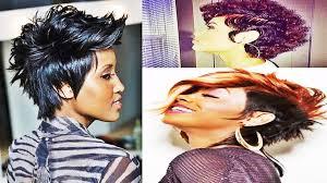 Mohawk Haarstijlen Voor Kort Haar Van Zwarte Vrouwen Trend Kapsels