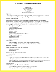 Example Of Business Analyst Resume 61 Images Sample Resume