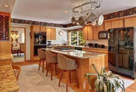 kitchen design traditional. traditional kitchen with 222 cu ft side by refrigerator in black counter design