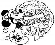 Christmas baby donald duck color. Christmas Disney Coloring Pages To Print Christmas Disney Printable
