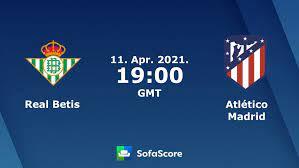 Real Betis Atlético Madrid Live Ticker und Live Stream - SofaScore