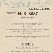The Reciprocal Trade Agreement Act Of 1934 | Us House Of ...