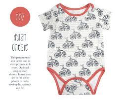 Bodysuit Sewing Pattern Gorgeous 48 Dylan Onesie PDF Sewing Pattern Kids Baby Boy Girl Kid Etsy