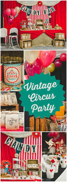 Circus vintage / Birthday