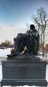 if a dark lady shakespeare s w of mystery writework english william shakespeare statue in lincoln park chicago
