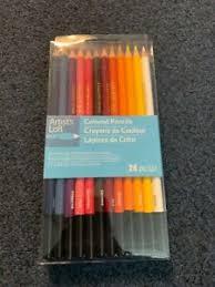 Artist Loft Sketch Markers Color Chart Details About Artist Loft Colored Pencils 24 Colors New