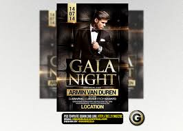 Flyer Backgrounds Psd Gala Night Flyer Template Psd Download Here Graphicriver Flickr