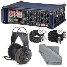 Sound Design Field Recorder Amazon Com Zoom F8 Multitrack Field Recorder For Filmmaking