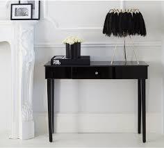 beaut mystique black glass console table venetian style