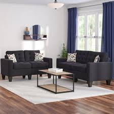Contemporary furniture living room sets Luxury Quickview Wayfair Modern Contemporary Living Room Sets Youll Love Wayfair
