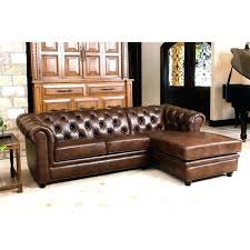 abbyson leather sectional top grain leather sectional in chestnut brown abbyson metropolitan leather sectional