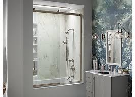 kohler shower doors attractive door guide bathroom kohler