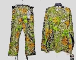 Scent Blocker Long Sleeve T Shirt Ripstop Pants Mossy Oak Camo Size 2xl