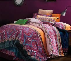image of bohemian exotic bedding