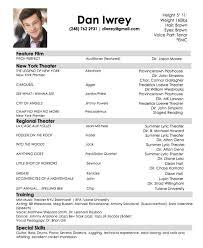 99 Child Actor Resume Samples Kids Acting Resume Actors Samples
