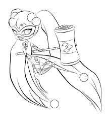 Print for free this beautiful kizi 2021 printable coloring page harley quinn online harley quinn. Harley Quinn Coloring Pages Print For Free The Best Images