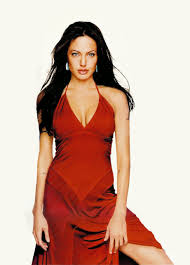 анджелина джоли в красном платье фотограф Patrick Demarchelier