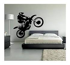 Customwallsdesign Motocross Wall Decal Dirt Bike Decor Motocross Decor Dirt Bike Wall Decal Dirtbike Decor Motocross Baby