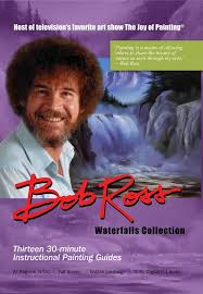 bob ross waterfall collection