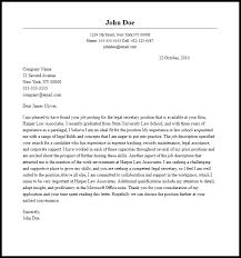 office cover letter samples professional legal secretary cover letter sample writing guide