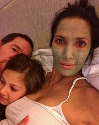 Padma Lakshmi Posts Instagram with Adam Dell and Daughter | PEOPLE.com