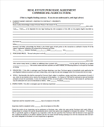 Commercial Purchase And Sale Agreement Template Purchase And Sale ...