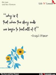 The Sun And Her Flowers Quotes Beauteous 48 Quotes From Rupi Kaur's The Sun And Her Flowers That Tells Us