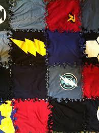 no sew t shirt blanket