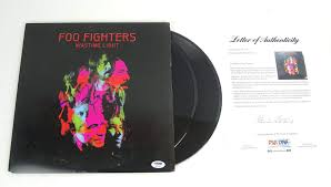 Foo Fighters Vinyl Wasting Light Foo Fighters Complete Band Signed Autograph Wasting Light