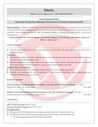 Production Resumes Production Sample Resumes Download Resume Format Templates