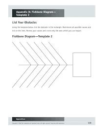 Microsoft Word Diagram Templates Fishbone Chart Template Word