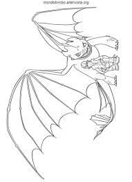 Dragon Trainer Da Colorare Mondo Bimbo