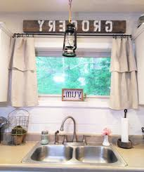 astonishing artistic chandelier rustic country kitchen curtains regarding farmhouse kitchen valance regarding encourage
